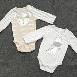 Cloud Island & Sprout 0-3m Bodysuits